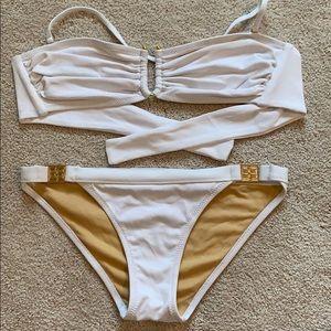 White bcbg bikini